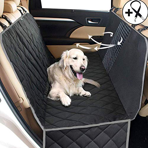 Big Ant Hundedecke Auto Hunde Sitzschoner Rückbank - Hundedecke für die Auto Rückbank wasserdicht - Schutz Hund Rücksitz Passt auf alle Fahrzeug
