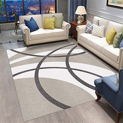 cuadros decoracion salon grandes alfombra para habitacion La alfombra gris en la sala de estar y el dormitorio es antideslizante, resistente al desgaste y no se desvanece. alfombras infantiles grandes