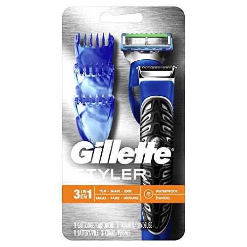 All Purpose Gillette Styler: Beard Trimmer, Men's Razor & Edger – Fusion Razors for Men / Styler