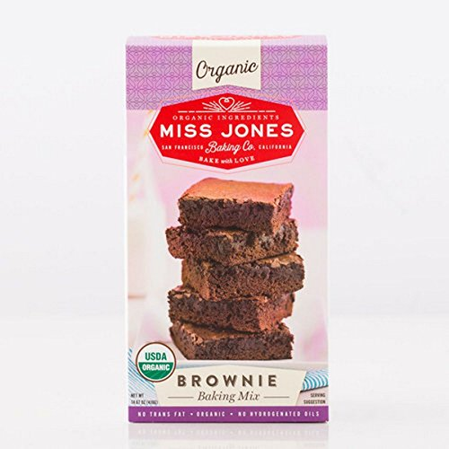 Miss Jones Baking Co, Baking Mix, Og2, Brownie, Pack of 6, Size - 14.67 OZ, Quantity - 1 Case