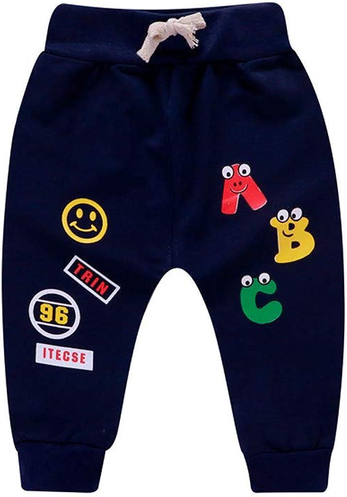 6 Mois -3 Ans Mojiang Toddler B/éb/é Fille Gar/çon Pantalon Baggy Pantalon De Jogging Sarouel Essentials Pantalon De Jogging Coton Pantalon De Sport Pantalon Stretch