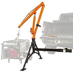powerful Apex Hydraulic Hitch Pickup 1000lb Jib Crane
