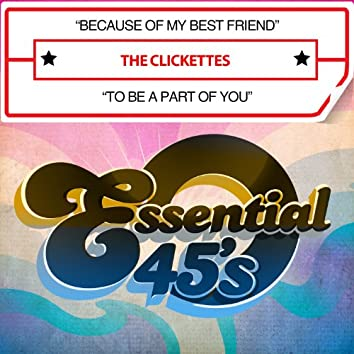 Because of My Best Friend / To Be a Part of You (Digital 45)