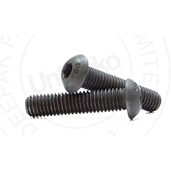 Fully Threaded 1-3//4 Length Pack of 50 US Made Black Oxide Alloy Steel Socket Head Cap Screw 1//2-13 Thread Size Hex Socket Drive