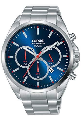 Lorus Sports Reloj para Hombre Analógico de Cuarzo con Brazalete de Acero Inoxidable RT363GX9