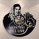 WTTA Oferta de Hospital médico Arte de la Pared Oficina decoración de la Pared Reloj de Pared Retro Enfermera Disco de Vinilo