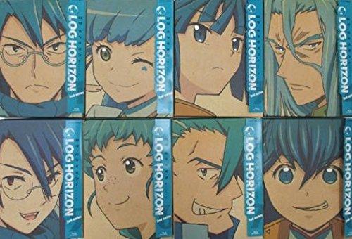Blu-Ray NHK アニメ LOG HORIZON ログ・ホライズン 2nd series 第2シリーズ 初回限定版 全8巻セット