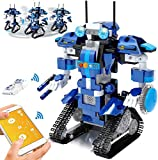 Yerloa Stem Robot Toy Remote Control Robot Building Blocks Educational Kit Engineering STEM Building Toys Intelligent Gift for Boys and Girls(405 Pieces)…