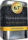 63 Grad - Premium Tonkabohnen - Ganze Tonka Bohnen (75g)