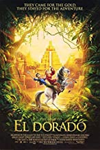 The Road to El Dorado Animation Original Single Sided Rolled 27x40 Movie Poster 2000