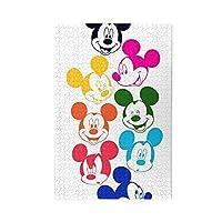 ミッキーマウス (28) ジグソーパズル 木製パズル 1000ピース 知育パズル キャラクター アニメパターン 減圧 子供 初心者向け ギフト プレゼント パズル 家族の活動 萌えグッズ