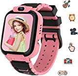 Kids Smart Watch for Girls, Smart Watch for Kids Educational, Kid Watch Electronic Game Toys, Camera Watch Birthday Christmas Gift for Kids Aged 3-12