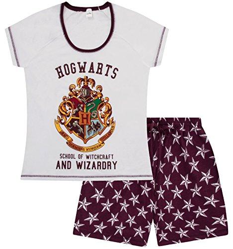 Harry Potter Short Womens Hogwarts Pyjamas