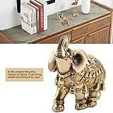 KSITH Le Statue del Ratto dello Zodiaco della Cina Casa Attirano Il Regalo del Negozio delle Sculture degli Accessori Decorativi Dellufficio Fortunato di Ricchezza