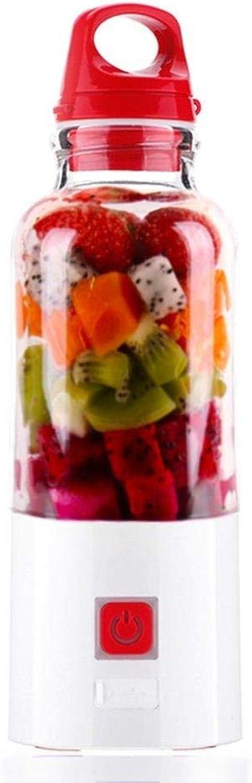 YGD Mezclador portátil Charger, exprimidor portátil multifunción, Libre de BPA, Que CREA jugos y Verduras nutritivos, Frescos y saludables