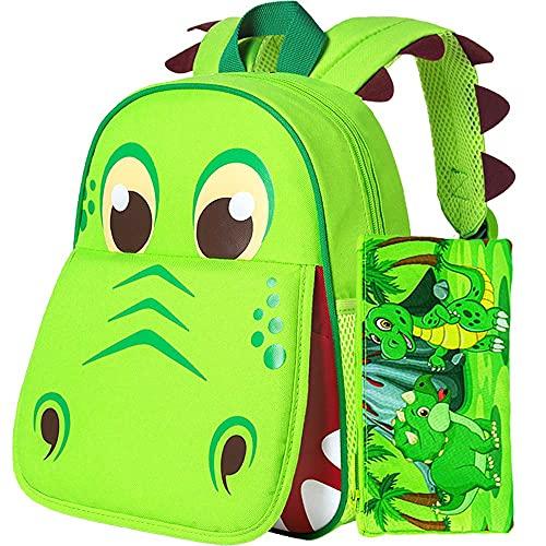 Toddler Backpack for Boys, 12' Dinosaur Kids Bookbag