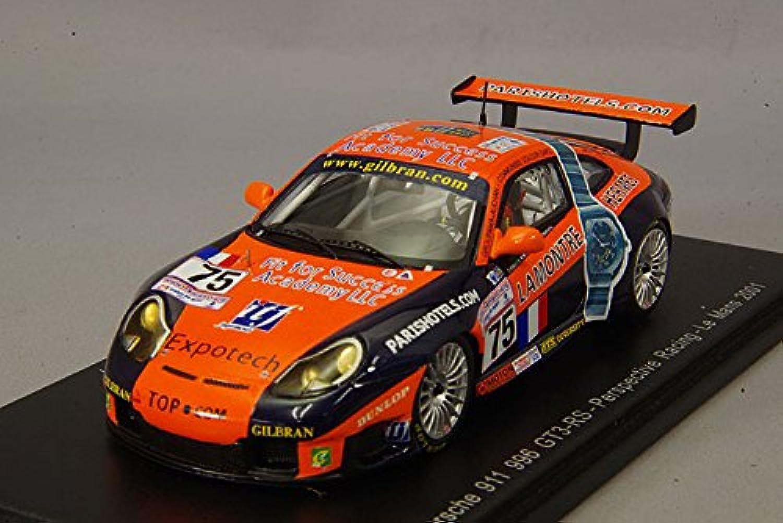 Porsche 991 (996) GT3-RS No.75 LeMans 2001 (T. Perrier - M. Neugarten - N. Smith) B075ZW2VY3 Erste Qualität  | Elegant und feierlich