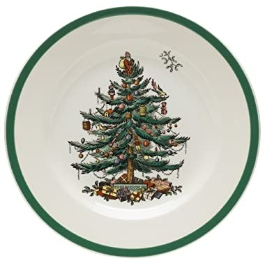Spode Christmas Tree Salad Plates, Set of 4