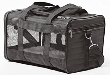 Sherpa Original Deluxe Airline Approved Pet Carrier Medium Black