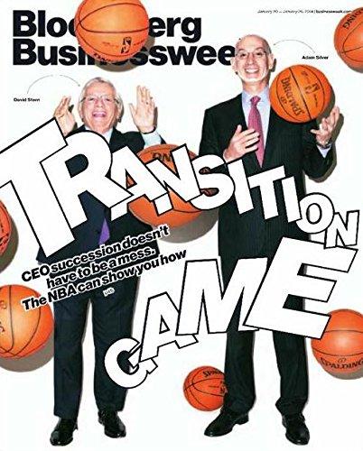 Bloomberg Businessweek Magazine (January 20, 2014 - January 26, 2014) David Stern Adam Silver NBA Cover
