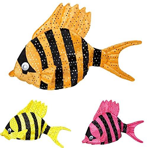 Amakando Gorro de pescado tropical con diseo de pez para disfraz de pescado, accesorio para carnaval, sombreros divertidos.