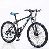 YAPENG Adult Mountain Bike with 26 Inch Wheel Derailleur Lightweight Sturdy 21...