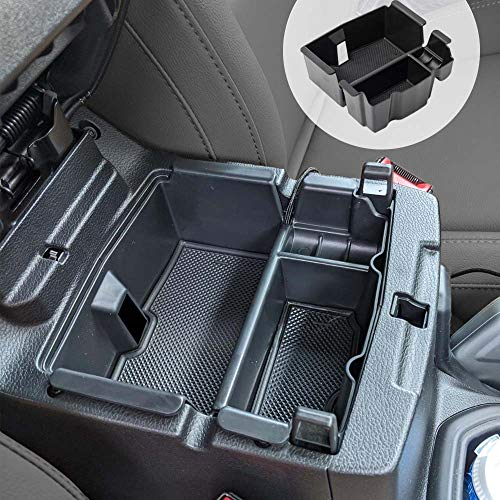 EDBETOS Center Console Organizer Tray Compatible with Jeep Wrangler JL/JLU 2018-2020 2021 Accessories Jeep Gladiator JT Truck 2020-2021 Armrest Storage Glove Box - Wont Covers The Light Inside