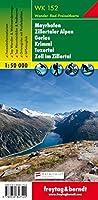 Mayrhofen - Zillertal Alps - Gerlos - Krimml - Tuxertal - Zell Im Zillertal Hiking + Leisure Map 1:50 000 (Hiking Maps of the Austrian Alps)