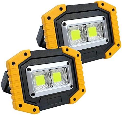 LED Work Lights Rechargeable Work Light Portable Flood Lights Waterproof COB Work Light Built product image