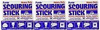 US Pumice Heavy Duty Scouring Stick (Pack of 3) by U.S. Pumice