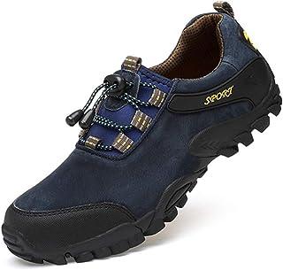 [URNICE] トレッキングシューズ ハイキングシューズ 歩きやすい スポーツ アウトドア キャンプ 軽量 通気 快適 滑りにくい 登山靴