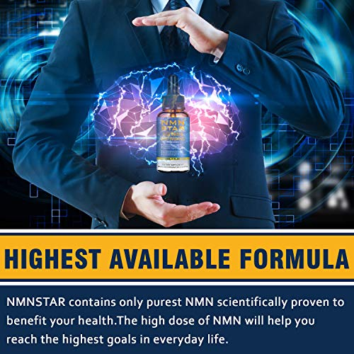 51FcJt4RI5L - 4 Bottles Liposomal NMN Drops,500mg, Boost NAD Levels for Cellular Repair, Mental Performance & Anti Aging, Nicotinamide Mononucleotide Supplement for 30 Day Supply (4 Bottles)