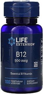 Vitamin B-12, Essential B Vitamin, 500 mcg, 100 Lozenges