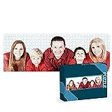 Getsingular Puzzles Personalizados 1000 Piezas panorámico con Foto y Texto | Máxima Calidad de impresión | Tamaño: 1000 Piezas panorámico (96x34 cm) - con Caja Personalizada
