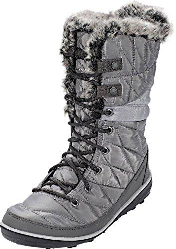 Columbia Women's Heavenly Omni-Heat Snow Boot, quarry, dove, 7