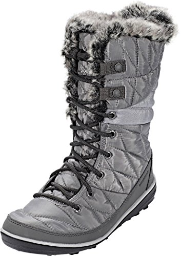 Columbia Women's Heavenly Omni-Heat Snow Boot, Quarry, Dove, 9 Regular US