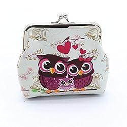 Travel Bag Accessories -Owl Coin Purse