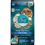 Purina ONE Natural, High Protein, Grain Free Dry Cat Food, True Instinct With Real Ocean Whitefish - 14.4 lb. Bag