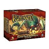 Asmodee- Runebound espansione nella Tela del Ragno Gioco da Tavolo con splendide Miniature...