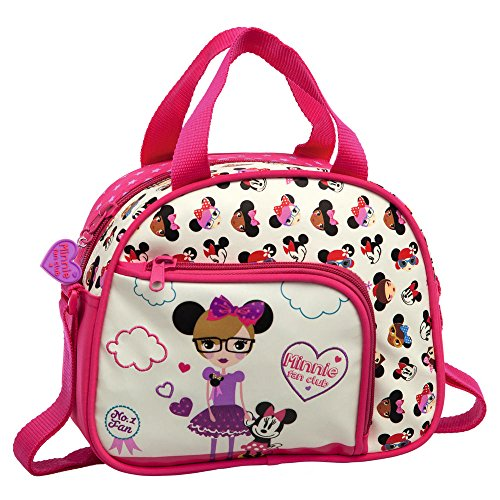 Disney Trousse de Toilette Minnie Fan Vanity, 23 cm, 4,37 L, Blanc