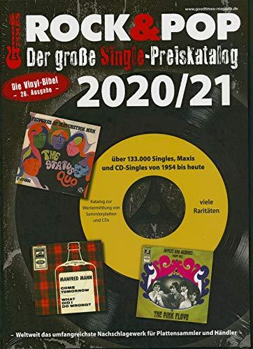 Der große Rock & Pop Single Preiskatalog 2020/21