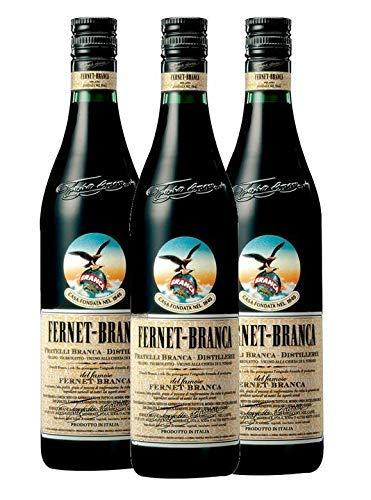 3 x Fernet-Branca Bitter 39% 0,7L