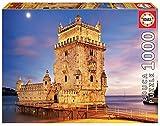 Educa 17195 Quebra-Cabeças/Puzzle de 1000 peças Torre de Bélem, Lisboa. Ref, Multicolor