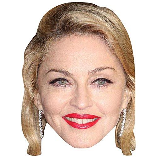 Madonna Maschere di persone famose, facce di cartone
