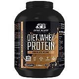 Gene Blast Diet Proteína de suero en polvo, alta en proteínas, bajo en carbohidratos, bajo en azúcar, con CLA, L Carnitina, té verde, Acai Berry 2,25 kg - 60 porciones (Chocolate Deluxe)