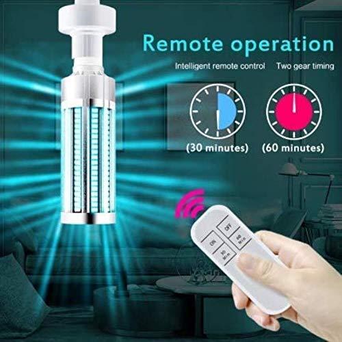 UVC UV-desinfectie-lamp 60W UVC LED lamp langwerpige sterilisator Germicide timer remote