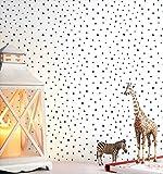 NEWROOM Kindertapete weiß Punkte gepunktet Kinder Vliestapete Vlies Kindertapete Kinderzimmer...
