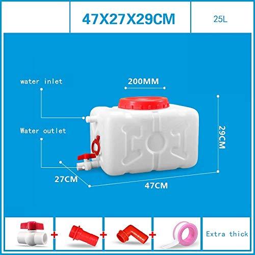 Seau de stockage en plastique de qualité alimentaire grand et horizontal avec réservoir d'eau en plastique avec couvercle Seau en plastique carré Seau de stockage extérieur Seau de stockage en plast