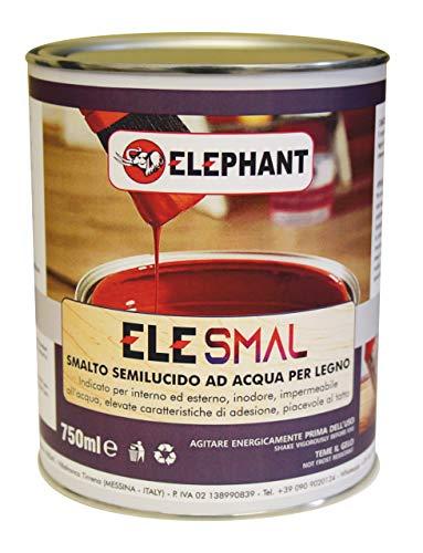 Smalto vernice all'acqua ELE SMAL 750ml - Legno (Avorio chiaro)