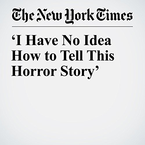 'I Have No Idea How to Tell This Horror Story' audiobook cover art